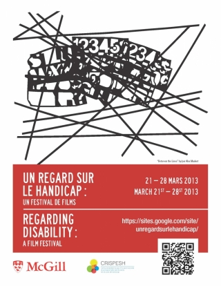 Poster for Regarding Disability Film Festival