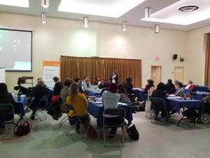 Participants au forum Dans La Mire, Cliquer pour voir en grand et pour avoir accès à une description