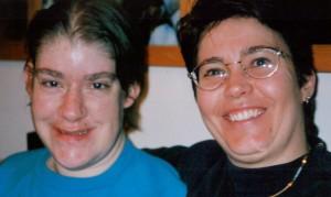 Betty Anne Gagnon et son amie Suzanne Jackett