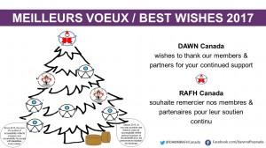 Holiday Message – Message des fêtes