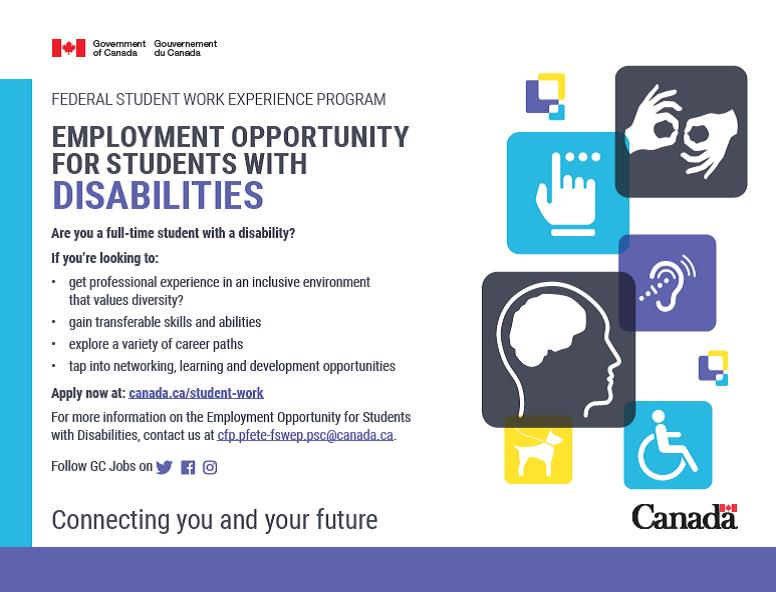 Employment Opportunities for Students with Disabilities (EOSD)