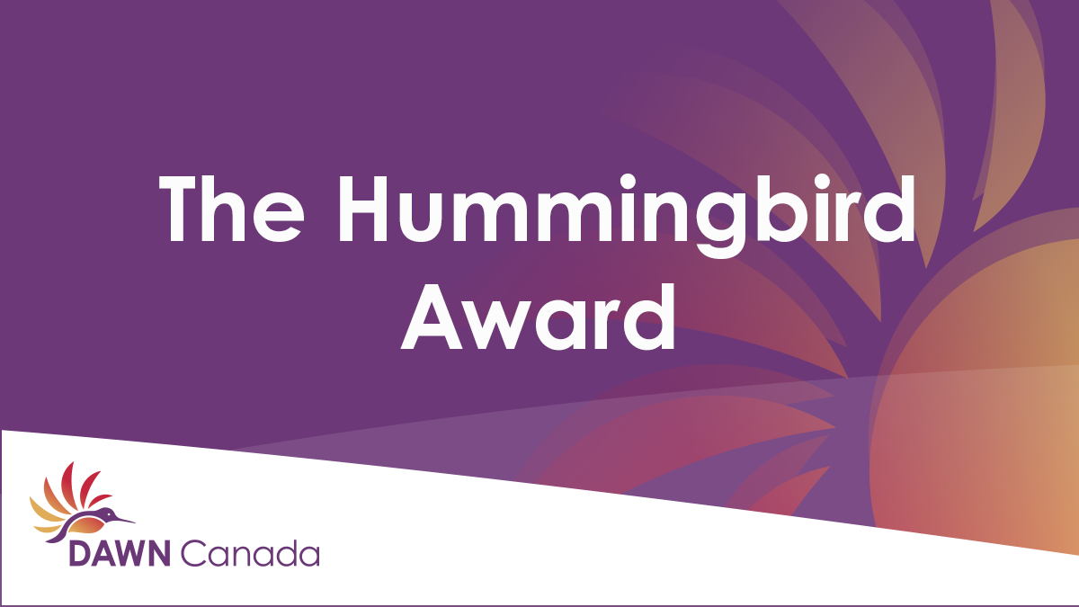The Hummingbird Award